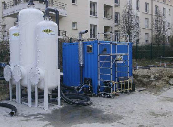 Traitement des sols par venting – Montrouge